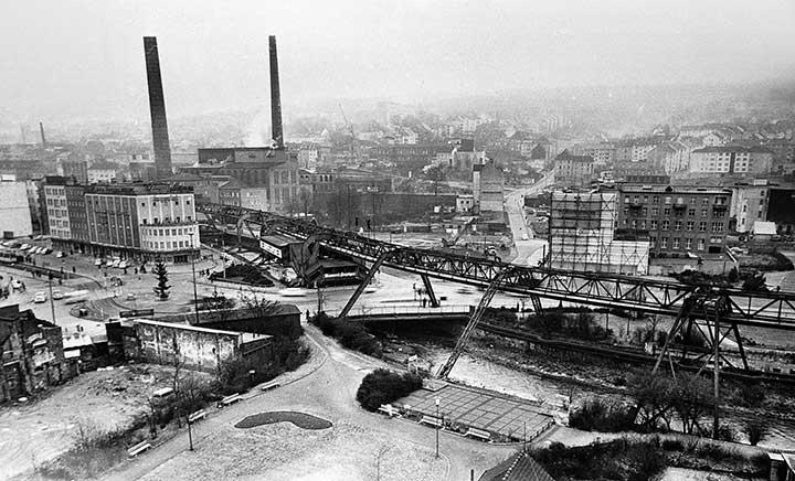 Wuppertal Alter Markt vor dem Umbau