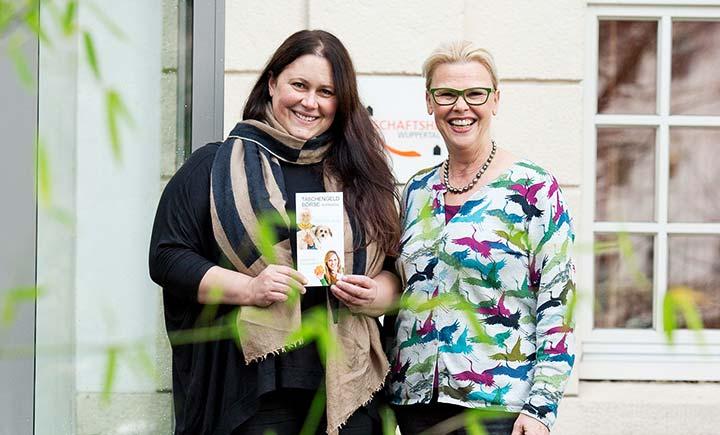 Stolz auf das Projekt: Manuela Salem (li.) und Angelika Naumann