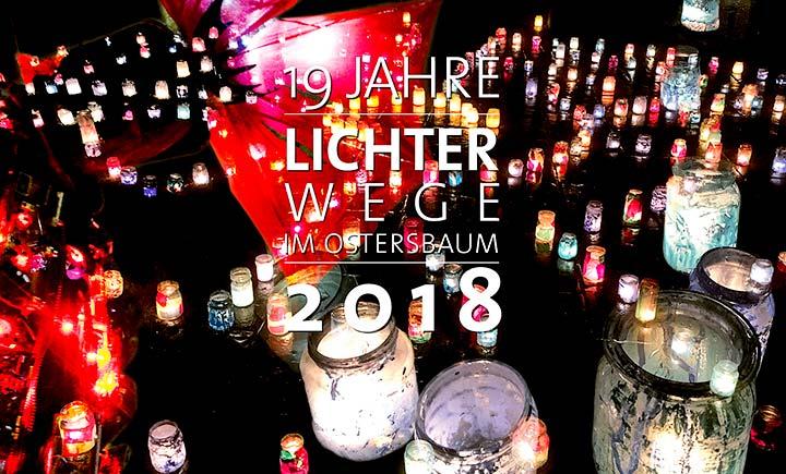 Atmosphärisches Kerzenlicht und ein tolles Programm: die Lichterwege im Quartier Ostersbaum