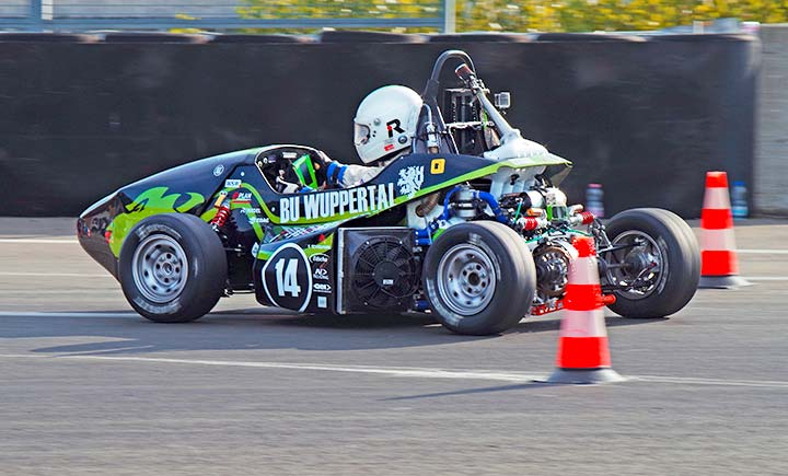 Das interdisziplinäre GreenLion-Racing-Team existiert bereits seit sechs Jahren