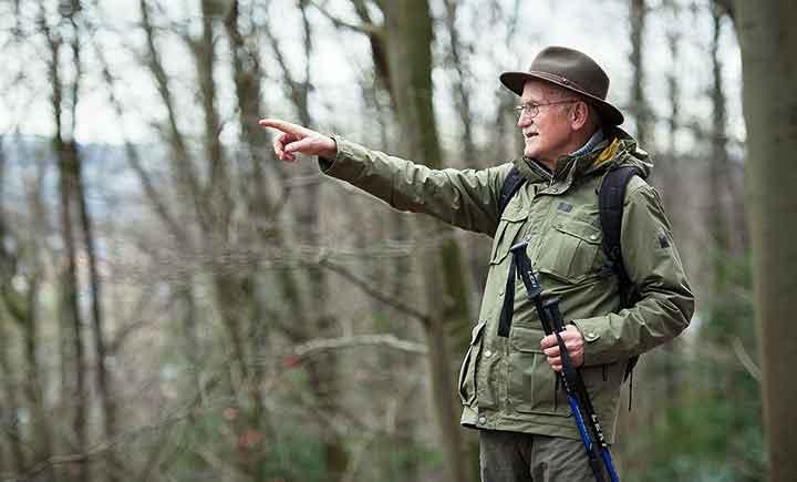 Der Weg als Ziel: SGV-Wanderführer Helmut Pfannkuchen